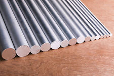 Aluminium Round Ø 105mm Length Selectable Round Rod AlCuMgPb Aluminium Round material wand